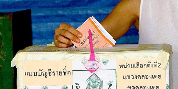 Thailand to deploy 200,000 police for referendum hinh anh 1