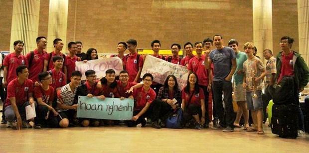 Hanoi-Amsterdam high school join robotics, startup programme in Israel hinh anh 1
