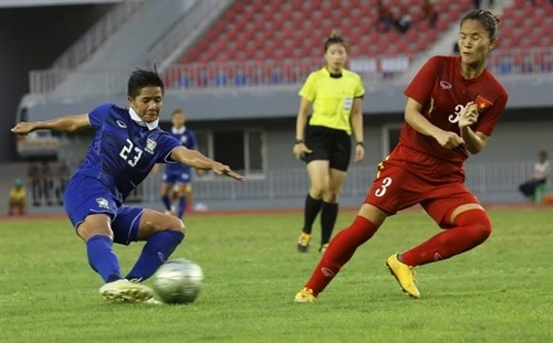Thailand wins ASEAN women's football championship hinh anh 1