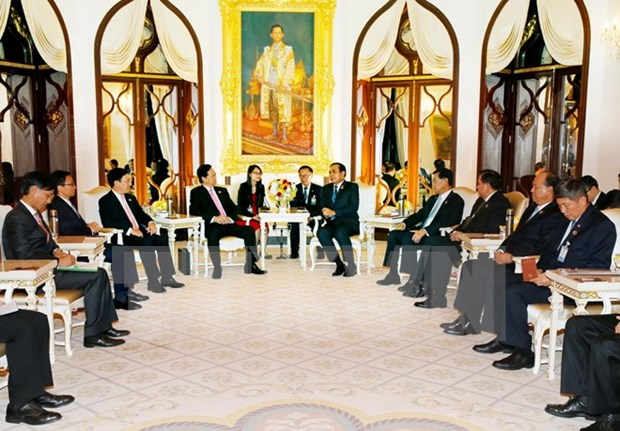 Vietnam-Thailand relations see strong development hinh anh 1