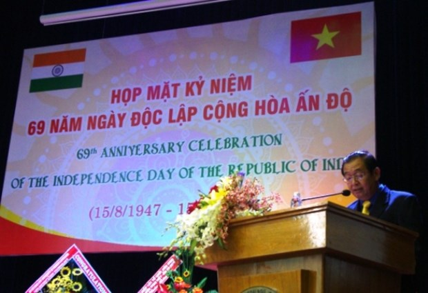 HCM City marks India's 69th Independence Day hinh anh 1