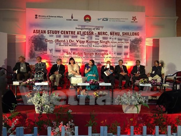 India inaugurates ASEAN Study Centre in Sillong city hinh anh 1