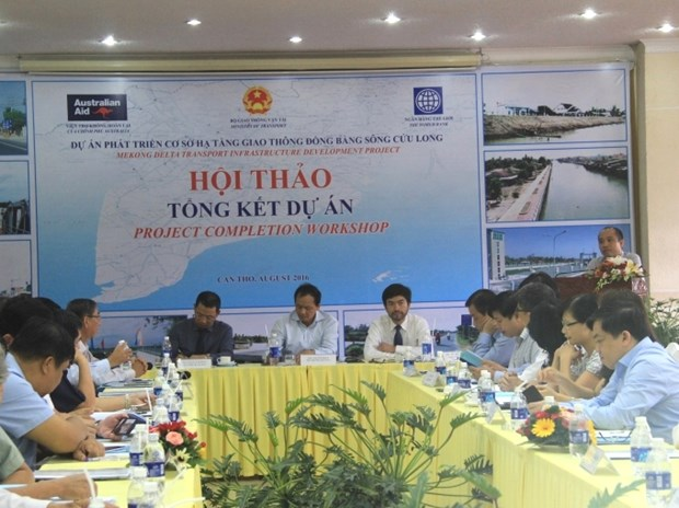 WB project improves waterway, inland transport in Mekong Delta hinh anh 1
