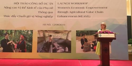 Australian project helps northern ethnic women hinh anh 1