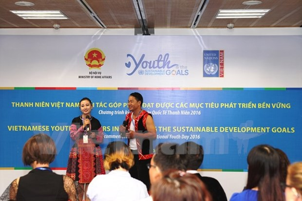 Policy dialogue draws youngsters hinh anh 1