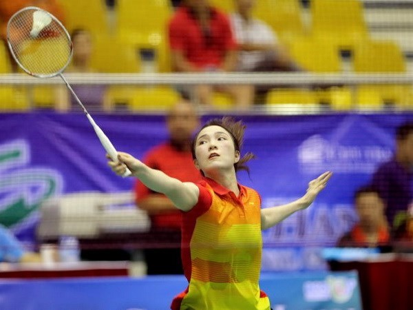 Rio 2016: Vietnamese female badminton player wins first match hinh anh 1