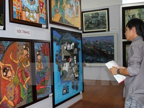 Exhibit celebrates southern art pieces hinh anh 1