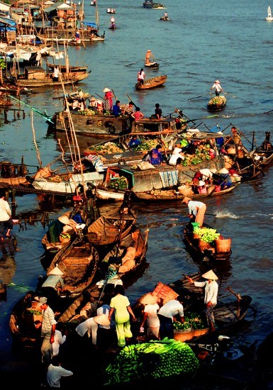 New life for Mekong floating market hinh anh 1