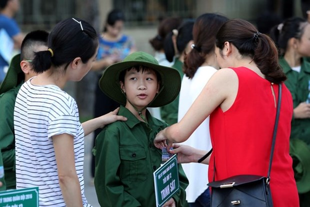 Hanoi targets care for 98 pct of children in special circumstances hinh anh 1