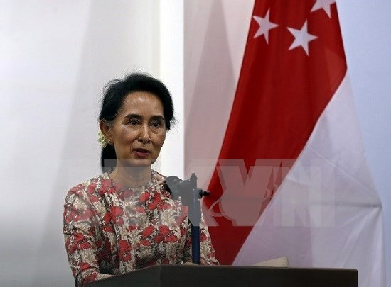 Myanmar state counselor calls for solidarity for long-lasting peace hinh anh 1