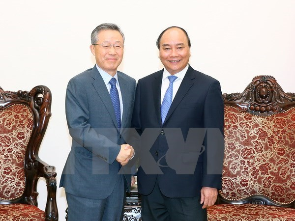 PM hosts former RoK's policy coordination minister hinh anh 1
