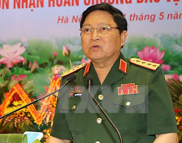 External defence relations significant in national safeguarding hinh anh 1