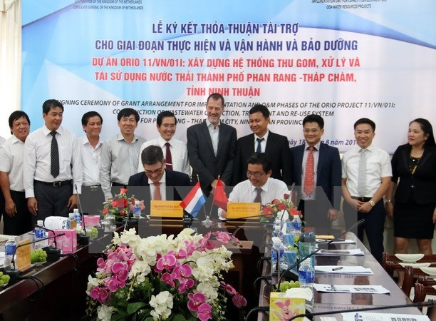 Netherlands funds wastewater treatment system in Ninh Thuan hinh anh 1