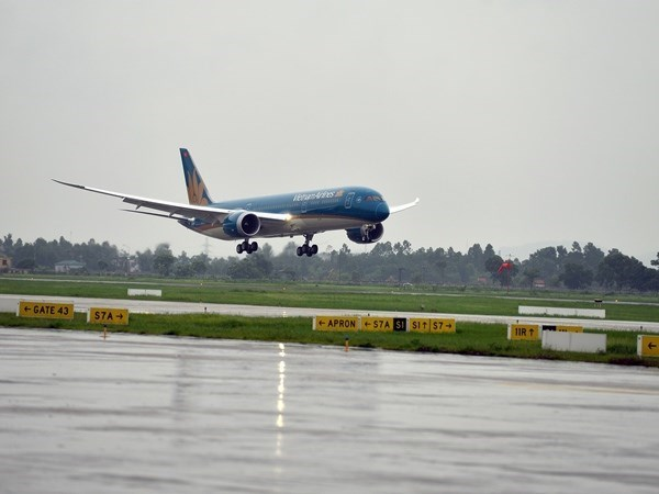 Vietnam Airlines cancels domestic flights due to Dianmu hinh anh 1