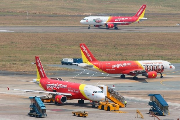 Vietjet flights cancelled due to tropical storm hinh anh 1