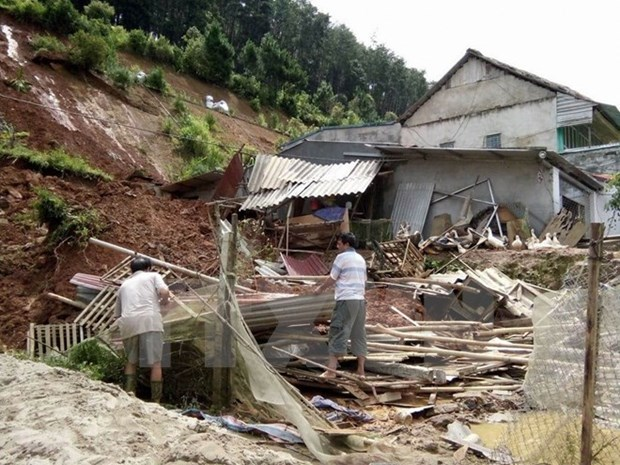 Casualties in storm Dianmu climb to seven, two still missing hinh anh 1