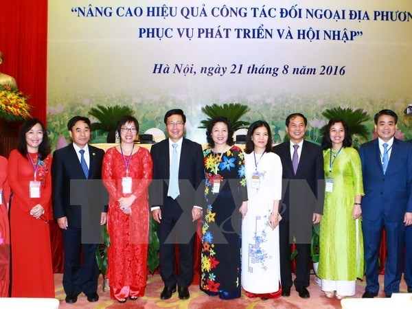 Conference: economic integration focus of external relation work hinh anh 1