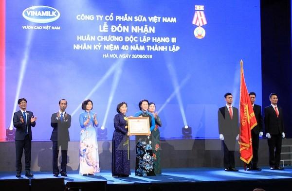 Vinamilk celebrates 40th anniversary hinh anh 1