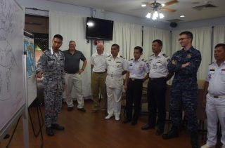 Maritime security exercise SEACAT kicks off in Singapore hinh anh 1