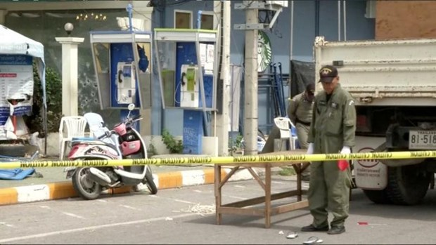 At least 20 people involved in Thailand bomb attacks: police hinh anh 1