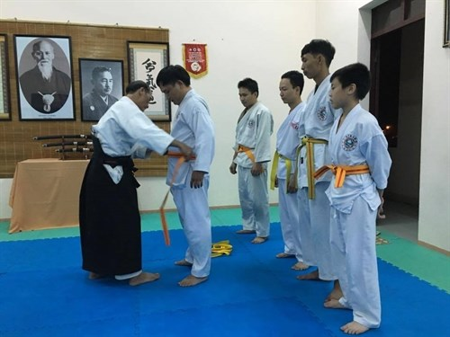 Aikido to be taught in Da Nang college hinh anh 1