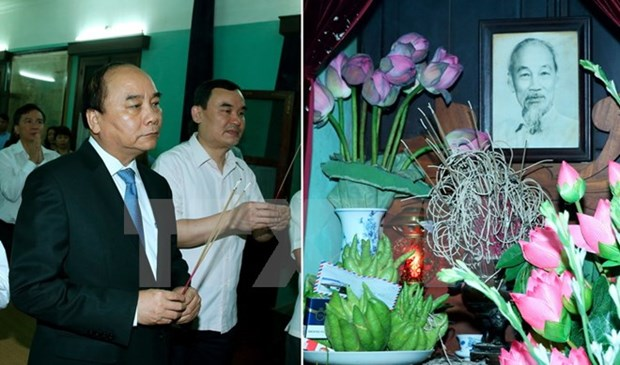 Prime Minister commemorates late President Ho Chi Minh hinh anh 1