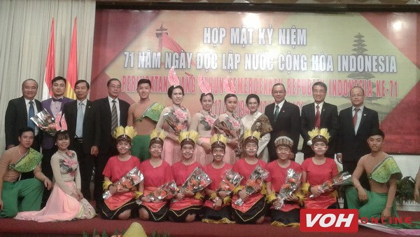 Indonesian Independence Day marked in HCM City hinh anh 1