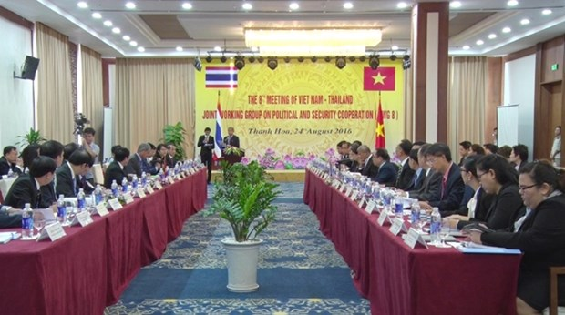 Vietnam-Thailand working group on politics, security convenes hinh anh 1