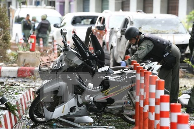 Thailand rules out link among bomb attacks in South hinh anh 1