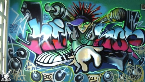 Graffiti Fest held by Hanoi Creative City hinh anh 1