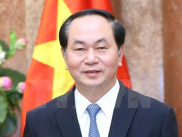 VN-France defence cooperation to be reinforced: President hinh anh 1