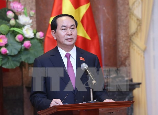 President leaves Hanoi for State visit to Brunei hinh anh 1
