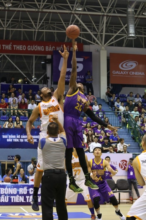 HCM City Wings set VBA points record hinh anh 1