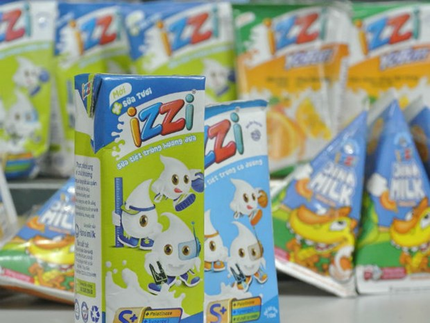 IZZI milk recognised at global food awards hinh anh 1