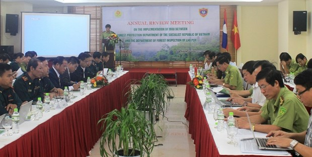 Vietnam, Laos want stronger forestry-related cooperation hinh anh 1