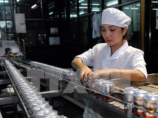 Industrial production index rise 6.9 percent in eight months hinh anh 1
