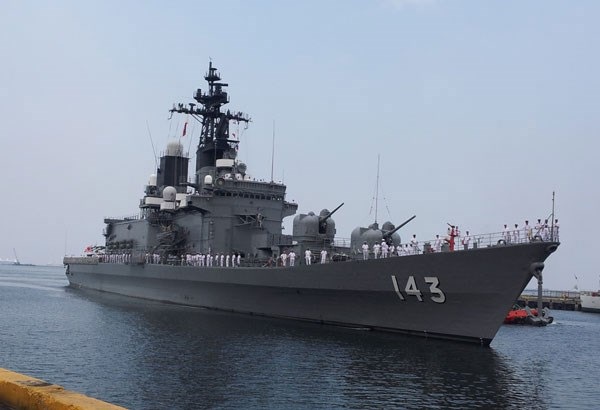 Two Japanese destroyers dock Philippine habour hinh anh 1
