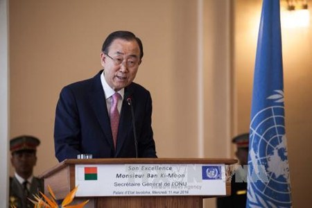 UN Secretary General visits Myanmar hinh anh 1