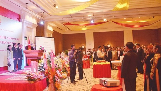 71st National Day marked abroad hinh anh 1