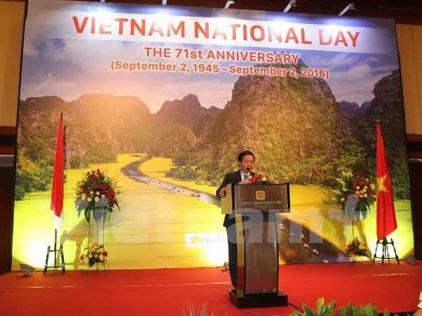 Vietnam marks National Day with congratulations, celebrations abroad hinh anh 1
