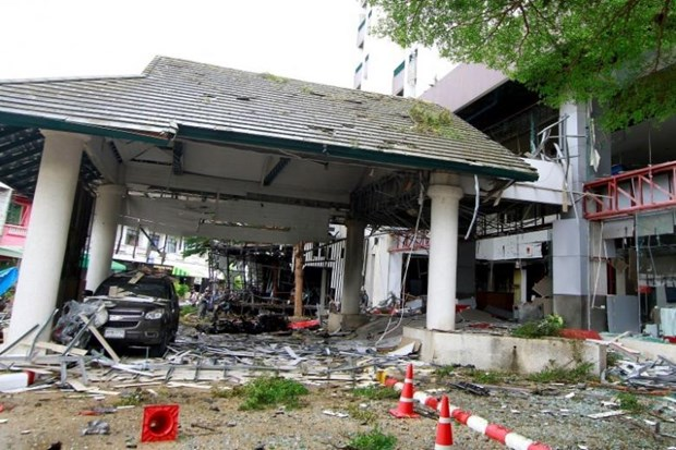 Thai police arrest first suspect of tourist-town bombs hinh anh 1