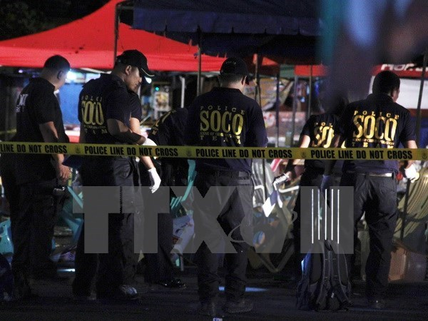 Philippines bombing: police detain a suspect hinh anh 1