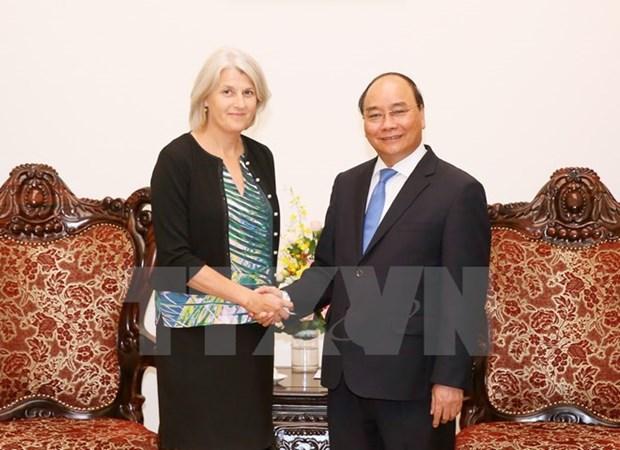 Prime Minister welcomes new Danish Ambassador hinh anh 1