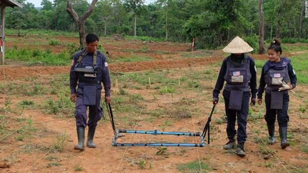 US, Laos establish comprehensive partnership hinh anh 1