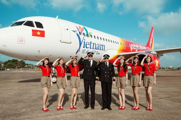 Vietjet to offer 2,100 zero-fare air tickets at HCMC Travel Expo hinh anh 1