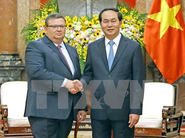 President hails Vietnam – Bulgaria prosecution cooperation hinh anh 1