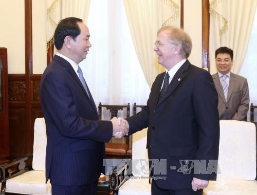 President bids farewell to Canadian Ambassador hinh anh 1