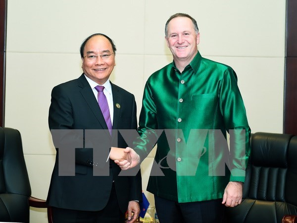 Prime Minister meets Japanese and NZ counterparts hinh anh 2