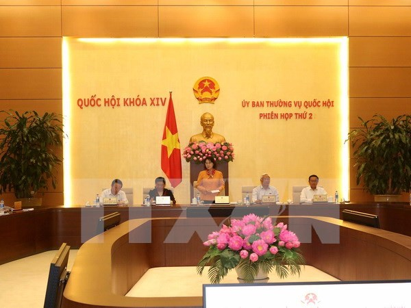 14th NA Standing Committee to convene third session hinh anh 1