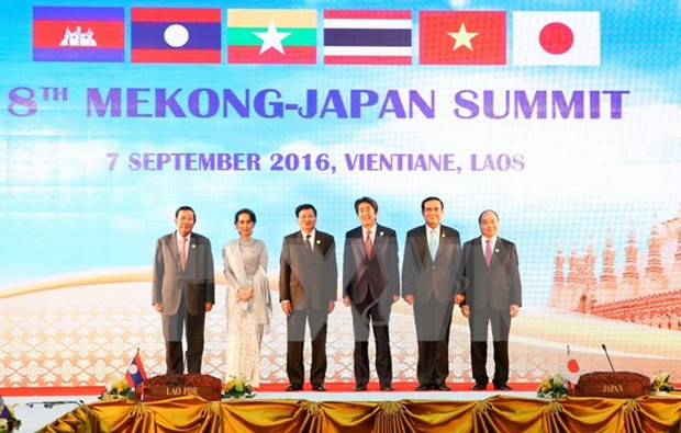 PM attends 8th Mekong-Japan Summit hinh anh 1